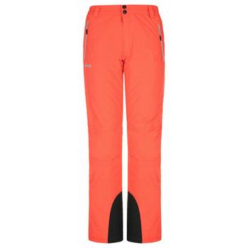 Dámské lyžařské kalhoty Kilpi GABONE-W korálová, Kilpi