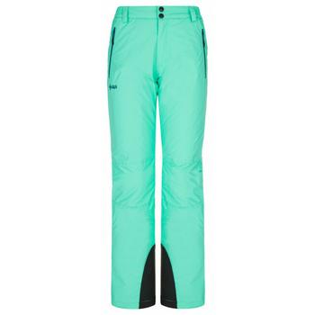 Dámské lyžařské kalhoty Kilpi GABONE-W tyrkysové, Kilpi
