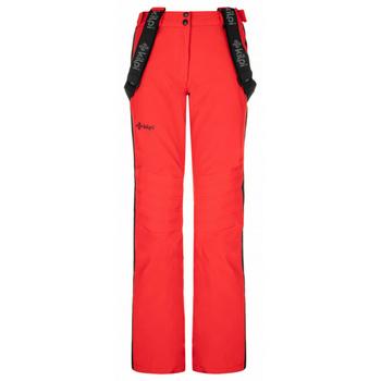 Dámské lyžařské kalhoty Kilpi HANZO-W červené