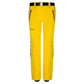 Dámské lyžařské kalhoty Kilpi HANZO-W žluté