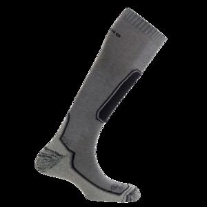 Ponožky MUND SKIING OUTLAST šedá, Mund