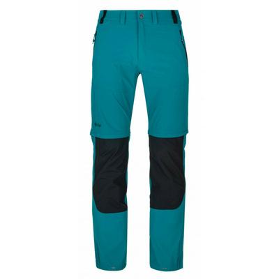 Pánské technické outdoorové kalhoty Kilpi HOSIO-M tyrkysové