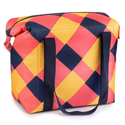 Termo taška Spokey SAN REMO růžovo-modro-žlutá, Spokey