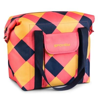 Termo taška Spokey SAN REMO růžovo-modro-žlutá