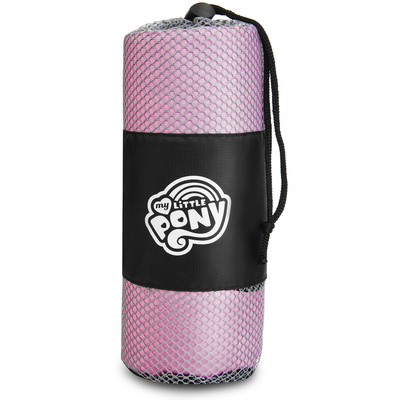 Rychleschnoucí sportovní ručník Spokey HASBRO PINKIE, černo-bílý, Spokey