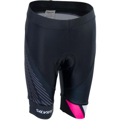 Dětské cyklistické kalhoty Silvini Team CP1436 black/pink, Silvini