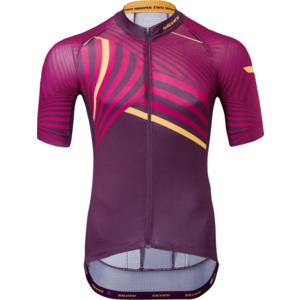 Pánský cyklistický dres Silvini Chiani MD1418 plum, Silvini