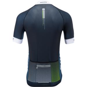 Pánský cyklistický dres Silvini TEAM MD836 black-green, Silvini