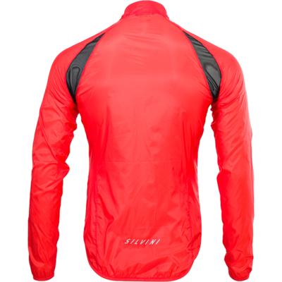 Pánská cyklistická bunda Silvini Montilio MJ1601 ruby, Silvini