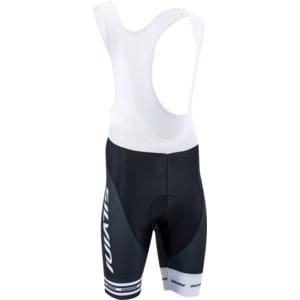 Pánské cyklistické kalhoty Silvini Team Top MP839 black-white