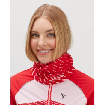 Zateplený sportovní šátek Silvini Marga UA1525 ruby