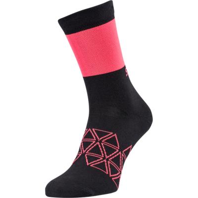 Cyklistické ponožky Silvini Bardiga UA1642 black/pink, Silvini