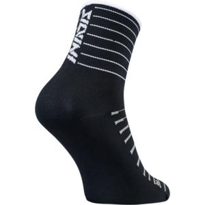 Cyklistické ponožky Silvini Bevera UA1659 black-white, Silvini