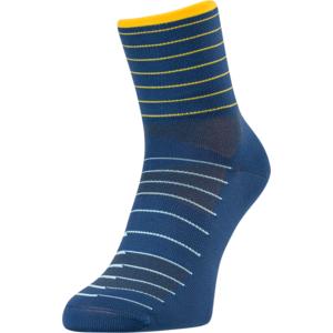 Cyklistické ponožky Silvini Bevera UA1659 navy-yellow, Silvini