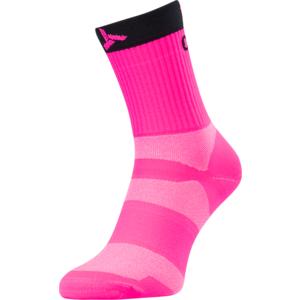 Cyklistické ponožky Silvini Orato UA1660 pink-charcoal, Silvini