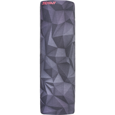 Jednovrstvý multifunkční šátek Silvini Motivo UA1730 black, Silvini