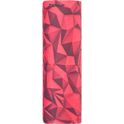 Jednovrstvý multifunkční šátek Silvini Motivo UA1730 red, Silvini
