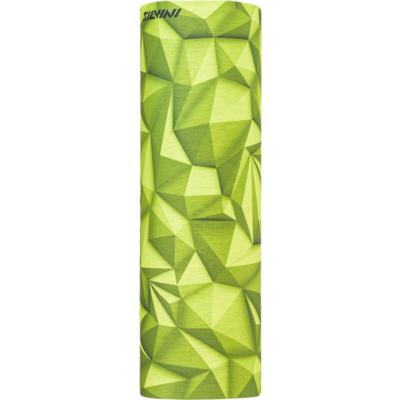 Jednovrstvý multifunkční šátek Silvini Motivo UA1730 lime/green, Silvini