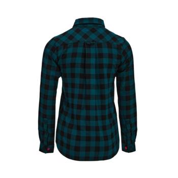 Dámská flanelová košile Silvini Briona WJ1927 olive, Silvini