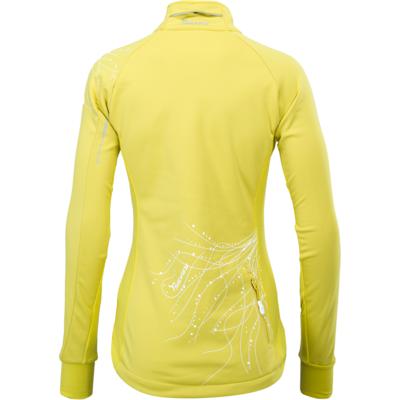Dámská softshellová bunda Silvini Monna WJ703 yellow, Silvini