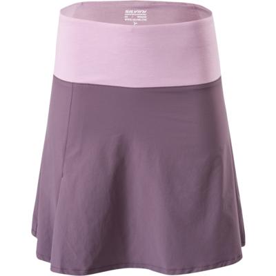 Dámská cyklistická sukně Silvini Salso WS1217 plum-purple, Silvini