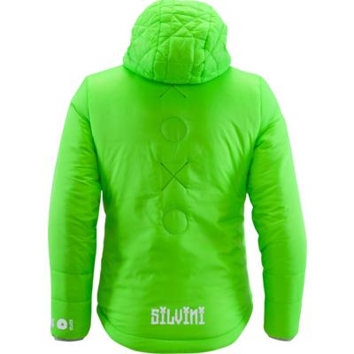 Dětská bunda Silvini Primaloft Seisa CJ1300 green, Silvini