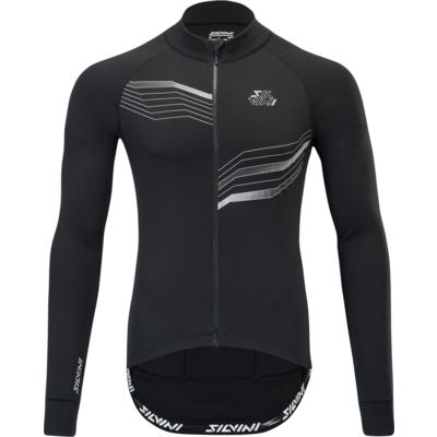 Pánský cyklistický dres Silvini Grande MD1611 black-cloud