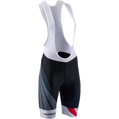 Dámské cyklistické kalhoty Silvini Team Top WP1408 black/red, Silvini