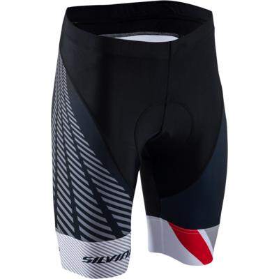 Dámské cyklistické kalhoty Silvini Team WP1409 black-red
