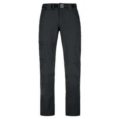 Pánské outdoorové kalhoty Kilpi JAMES-M černé