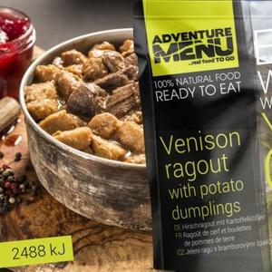Adventure Menu Jelení ragú s bramborovými špalíčky, Adventure Menu