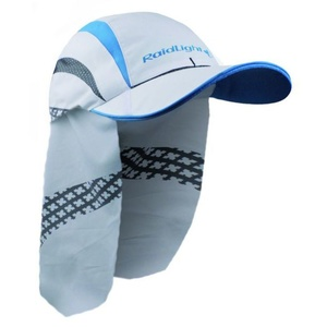 Běžecká kšiltovka Raidlight R-Light Cap White/Electric Blu, Raidlight
