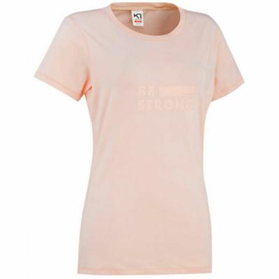Dámské stylové triko s krátkým rukávem Kari Traa Tvilde 622450, růžová