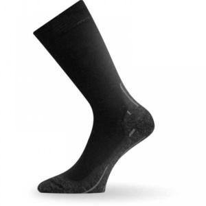 Ponožky Lasting WHI 909 černé vlněné, Lasting