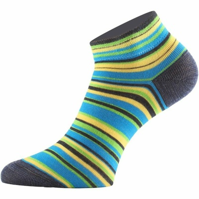 Funkční ponožky Lasting DUHA-961 proužkované, Lasting