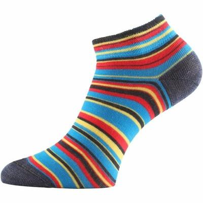 Funkční ponožky Lasting DUHA-913 proužkované, Lasting