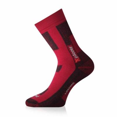 Ponožky funkční Lasting TKG-328 červené