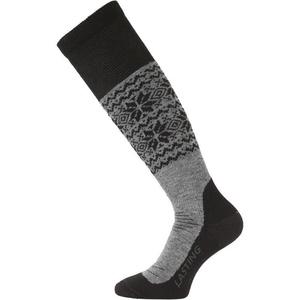 Ponožky Lasting SWB 800 šedé, Lasting
