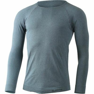 Pánské funkční triko Lasting MOL-5880 modrý melír, Lasting