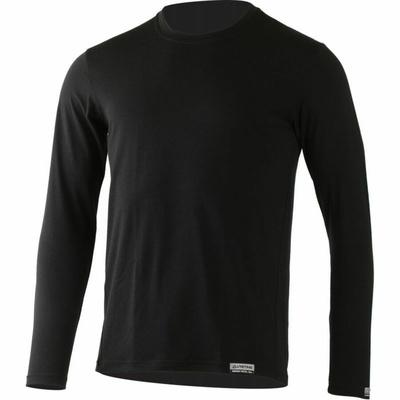 Pánské merino triko Lasting ALAN-9090 černé, Lasting