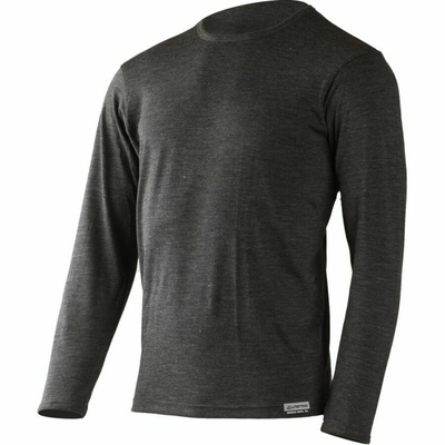 Pánské merino triko Lasting ALAN-8169 šedé, Lasting