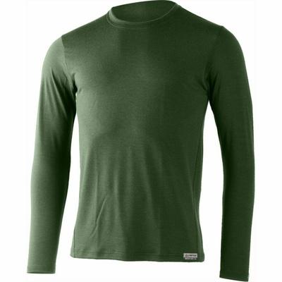 Pánské merino triko Lasting ALAN-6262 zelené