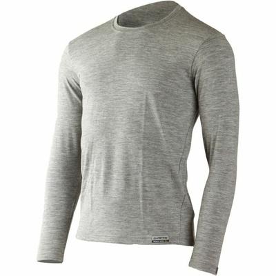 Pánské merino triko Lasting LOGAN-8484 šedá, Lasting