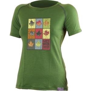 Merino triko Lasting LIST 6060 zelené vlněné, Lasting