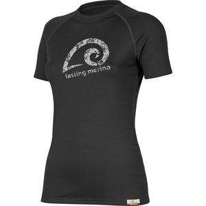 Merino triko Lasting MERILA 9090 černé vlněné, Lasting