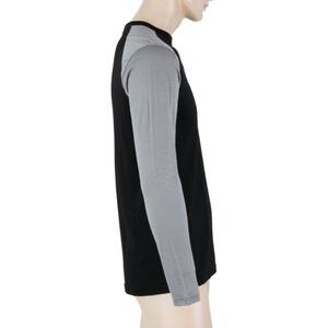 Pánské triko Sensor MERINO ACTIVE PT LOGO černá/šedá 18100018, Sensor
