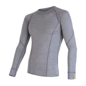 Pánské triko Sensor Merino Wool Active šedá 17200020, Sensor