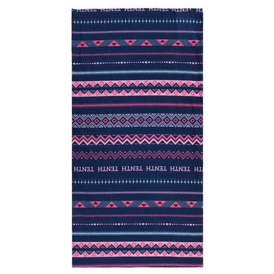 Multifunkční šátek Husky Printemp pink triangle stripes, Husky