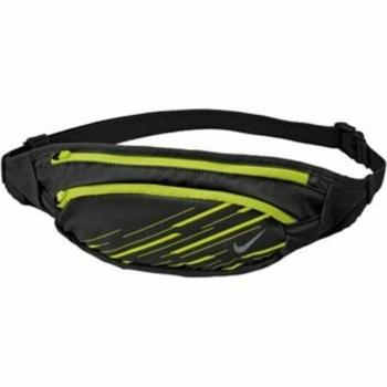 Ledvinka Nike Large Capacity Waistpack Black/Volt/Silver, Nike