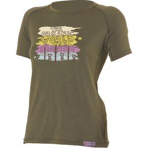 Merino triko Lasting ORGANIC 6363 zelené vlněné, Lasting